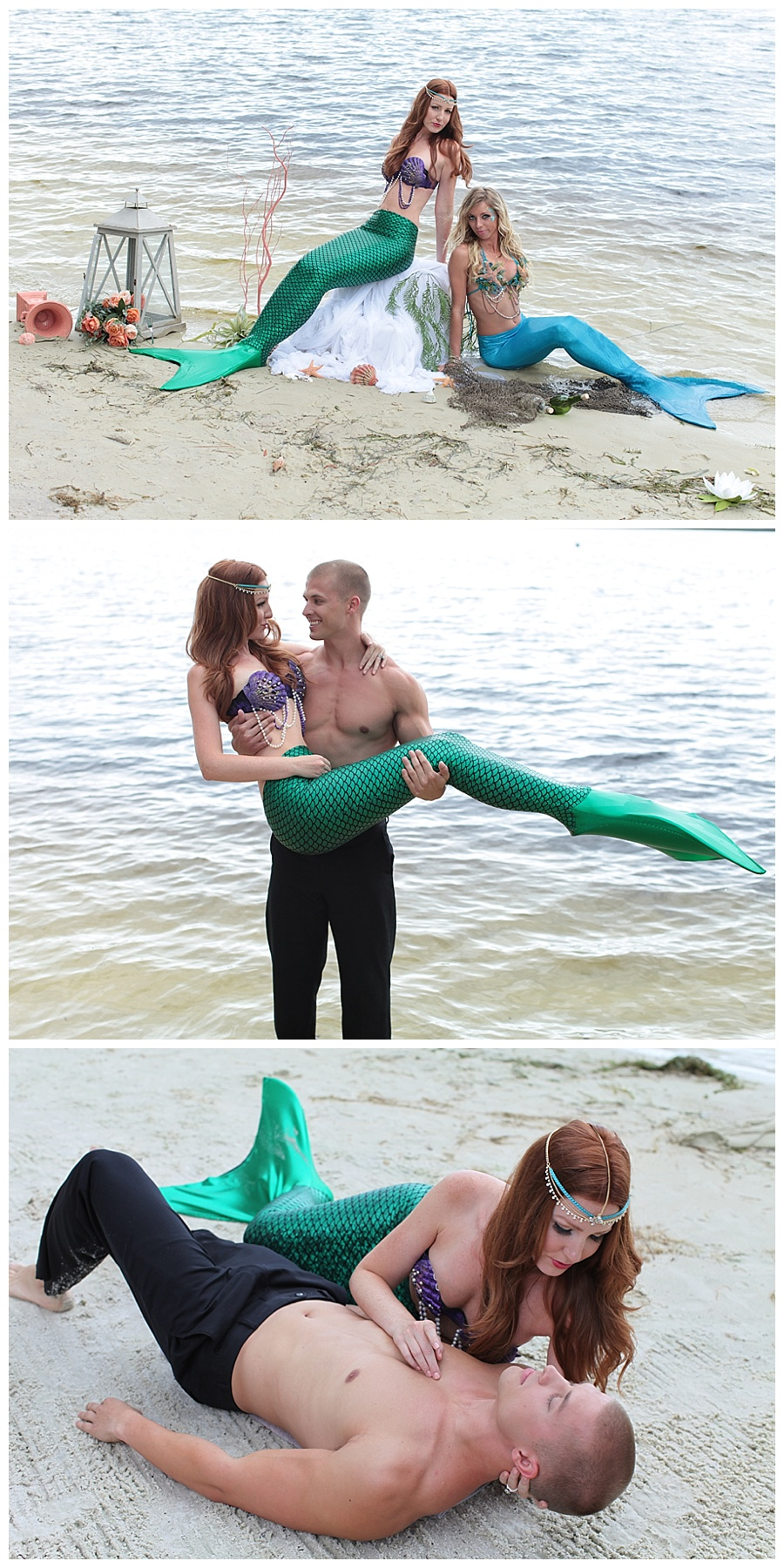 Little Mermaid Gets Married to Price Eric