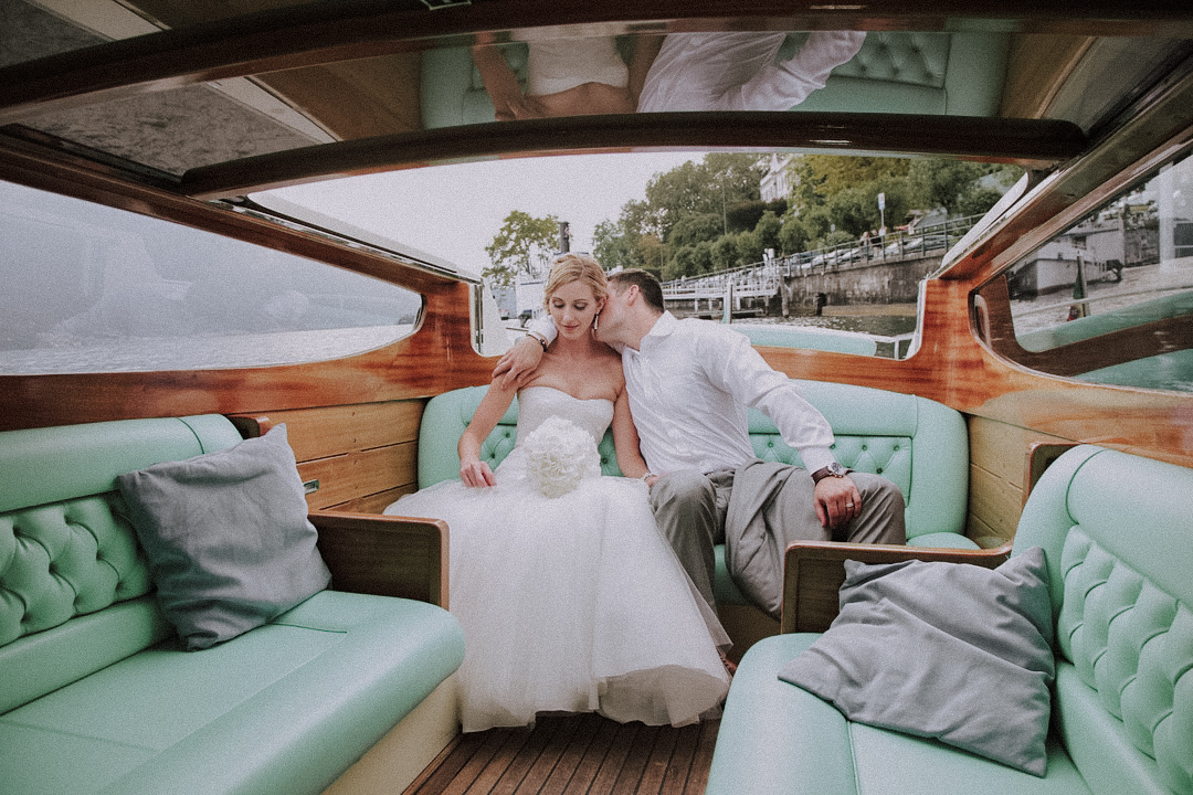 Boat Wedding in Italy